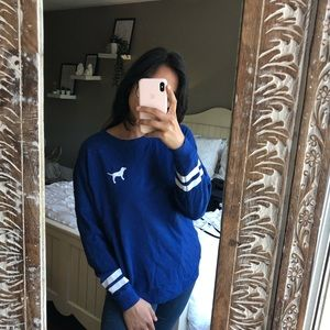 PINK long sleeve graphic shirt